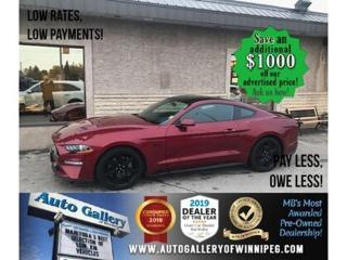 Used 2019 Ford Mustang GT* B.cam/B.tooth/V8 for sale in Winnipeg, MB