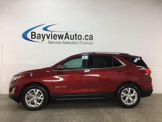 Used 2019 Chevrolet Equinox - AWD! 2.0L TURBO! PANOROOF! NAV! ONLY 20,000KMS! for sale in Belleville, ON