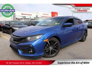 Used 2020 Honda Civic Sport | Manual for sale in Whitby, ON