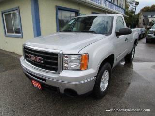 Used 2011 GMC Sierra 1500 GREAT KM'S SLE EDITION 3 PASSENGER 5.3L - V8.. 4X4.. REGULAR CAB.. 6.6