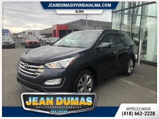 Used 2015 Hyundai Santa Fe Sport MODÈLE LIMITED AWD CUIR TOIT GPS DÉFLECT for sale in Alma, QC