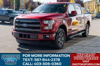 Used 2016 Ford F-150 Lariat 502A/5.0L V8/SUN ROOF/FX4/SPRAY IN LINER for sale in Okotoks, AB