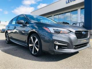 Used 2018 Subaru Impreza 2.0i Sport-tech 5-door Auto,toit,cuir,gps for sale in Lévis, QC