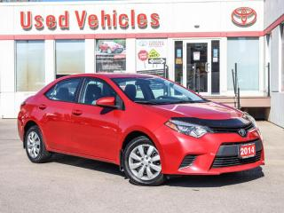 Used 2014 Toyota Corolla LE | BACK-UP CAMERA | HEATED SEATS | SINGLE OWNER for sale in North York, ON