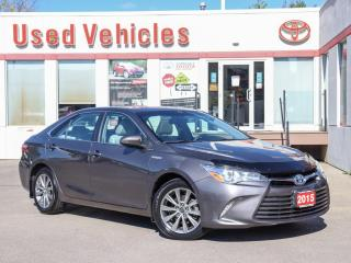 Used 2015 Toyota Camry HYBRID XLE HYBRID LEATHER SUNROOF ALLOYS NAVI HEAT-SEAT for sale in North York, ON