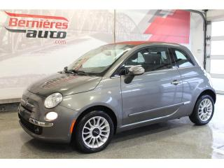 Used 2012 Fiat 500 LOUNGE Convertible for sale in Lévis, QC