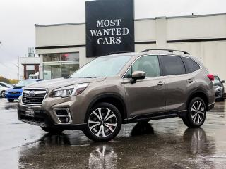 Used 2019 Subaru Forester LIMITED|EYESIGHT PKG|AWD|BLIND|LANE DEP|ACC|NAV|REAR HEATED SEATS & STEERING for sale in Kitchener, ON