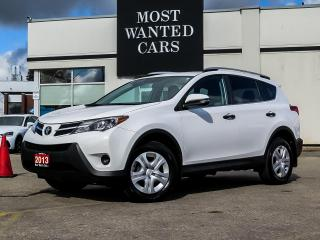 Used 2013 Toyota RAV4 LE|AWD|BACK UP CAMERA|TOUCHSCREEN|BLUETOOTH|NO ACCIDENTS for sale in Kitchener, ON