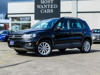 Used 2017 Volkswagen Tiguan WOLFSBURG|SPECIAL EDITION|CAMERA|TOUCHSCREEN|LEATHER|BLUETOOTH for sale in Kitchener, ON