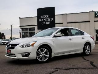 Used 2014 Nissan Altima SL BOSE SUNROOF REAR CAMERA LEATHER BLUETOOTH HEATED STEERING ALLOYS for sale in Kitchener, ON