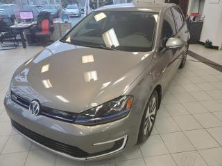 Used 2015 Volkswagen Golf e-Golf E-GOLF SEL PREMIUM / GPS / CAMERA / SIEG for sale in Sherbrooke, QC