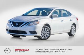 Used 2017 Nissan Sentra S MANUELLE / A/C / GR. ÉLÉCTRIQUE / BLUETOOTH for sale in Montréal, QC