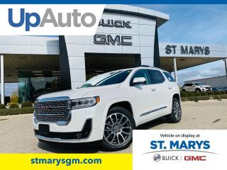 New 2021 GMC Acadia Denali for sale in St. Marys, ON