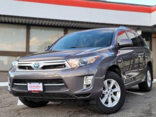 Used 2013 Toyota Highlander HYBRID 7 Passenger | Backup Camera | Heated Seats for sale in Waterloo, ON
