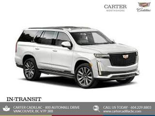 New 2021 Cadillac Escalade ESV Premium Luxury for sale in North Vancouver, BC