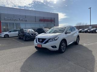 Used 2015 Nissan Murano SL AWD CVT for sale in Smiths Falls, ON