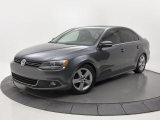 Used 2014 Volkswagen Jetta COMFORTLINE TRÈS PROPRES TOIT OUVRANT MANUEL for sale in Brossard, QC