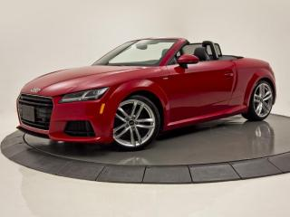 Used 2017 Audi TT QUATTRO 2.0 CONVERTIBLE CUIR  NAV S-LINE for sale in Brossard, QC