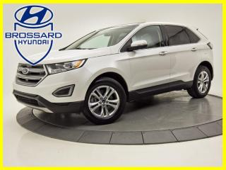 Used 2018 Ford Edge SEL AWD TOIT PANO NAV CAM DE RECUL CUIR for sale in Brossard, QC