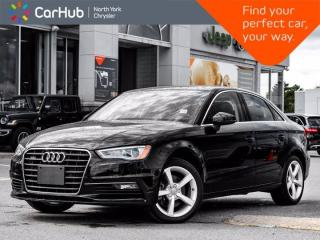 Used 2016 Audi A3 2.0T Komfort Quattro Sunroof Heated Front Seats Bluetooth for sale in Thornhill, ON
