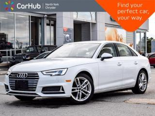Used 2019 Audi A4 Sedan TECHNIK for sale in Thornhill, ON