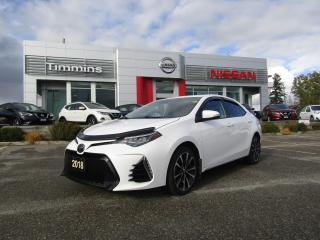 Used 2018 Toyota Corolla SE for sale in Timmins, ON