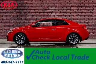 Used 2010 Kia Forte SX Koup Leather Roof for sale in Red Deer, AB