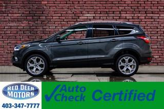 Used 2017 Ford Escape AWD Titanium Leather Roof Nav BCam for sale in Red Deer, AB