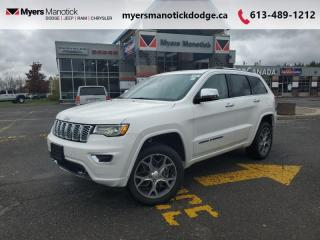 New 2021 Jeep Grand Cherokee Overland  - Navigation - $349 B/W for sale in Ottawa, ON