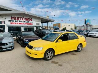 Used 2003 Mitsubishi Lancer OZ-Rally for sale in Regina, SK