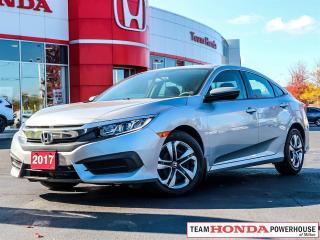 Used 2017 Honda Civic LX--1 Owner--No Accidents--Backup Camera for sale in Milton, ON