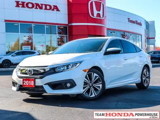 Used 2018 Honda Civic EX-T--1 Owner--No Accidents--Heated Seats--Remote Starter for sale in Milton, ON