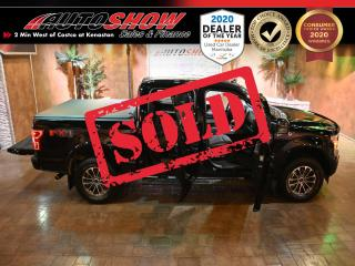 Used 2018 Ford F-150 5.0L FX4 Crew - Pano Roof & Nav !!  $1,000 FINANCE REBATE!! for sale in Winnipeg, MB