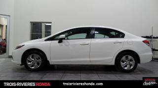 Used 2015 Honda Civic LX +TRES BAS KILO+ DEMARREUR + BLUETOOTH for sale in Trois-Rivières, QC