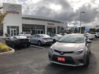 Used 2016 Toyota Corolla LE CVT - BACKUP CAMERA - HEATED FRONT SEATS for sale in Stouffville, ON