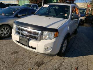 Used 2009 Ford Escape XLT Automatic Duratec for sale in Barrie, ON
