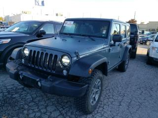 Used 2015 Jeep Wrangler UNLIMITED SPORT for sale in Barrie, ON