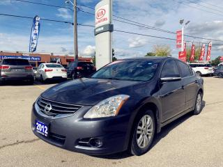 Used 2012 Nissan Altima 4Dr 2.5 SL |CVT|Leather|Roof|BOSE|1Owner|Low KM| for sale in North York, ON