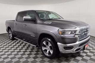 Used 2019 RAM 1500 Laramie CREW CAB, 4X4, RUNNING BOARDS, SPRAY-IN BEDLINER for sale in Huntsville, ON