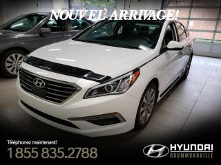 Used 2016 Hyundai Sonata LIMITED + GARANTIE + NAVI + TOIT PANO + for sale in Drummondville, QC