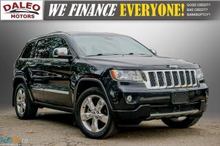 Used 2012 Jeep Grand Cherokee OVERLAND / LEATHER / NAVI / PANOROOF/ FULLY LOADED for sale in Hamilton, ON