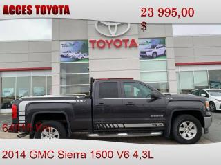 Used 2014 GMC Sierra 1500 4WD Extended Cab for sale in Rouyn-Noranda, QC