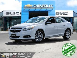 Used 2013 Chevrolet Malibu 2LT SUNROOF! | LEATHER! for sale in Burlington, ON