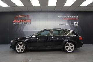 Used 2012 Audi A4 WAGON 2.0T PREMIUM PLUS QUATTRO CUIR TOIT GPS NAVI for sale in Lévis, QC