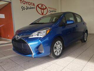 Used 2016 Toyota Yaris * AUTOMATIQUE * AIR CLIMATISÉ * 43 000 KM for sale in Mirabel, QC