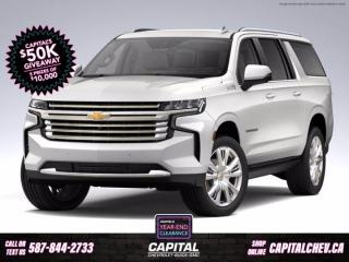 New 2021 Chevrolet Suburban High Country for sale in Calgary, AB