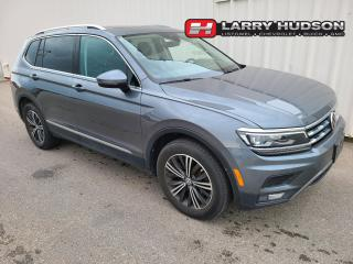 Used 2018 Volkswagen Tiguan Highline AWD   Navigation   Sunroof   One Owner for sale in Listowel, ON