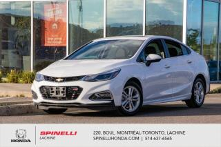 Used 2018 Chevrolet Cruze LT RS PACKAGE AUTO TOIT MAGS AUTO TOIT MAGS BLUETOOTH CAMERA for sale in Lachine, QC
