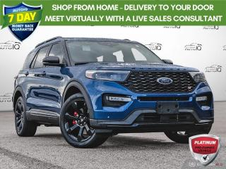 Used 2020 Ford Explorer ST | PERFORMANCE BRAKES | NAVIGATION | TWIN-PANEL MOONROOF | TECH PACK | STREET PACK for sale in Oakville, ON