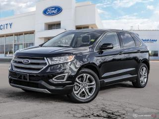 Used 2018 Ford Edge Titanium for sale in Winnipeg, MB